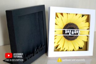 3D Shadow Box Frame Template 3D SVG Craft Cut File By Creative Fabrica Crafts