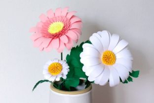 3D Daisy Paper Flowers 3D SVG Craft Cut File By Creative Fabrica Crafts 4