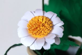 3D Daisy Paper Flowers 3D SVG Craft Cut File By Creative Fabrica Crafts 6