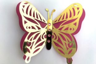 3D Layered Dragonflies and Butterflies 3D SVG Craft Cut File By Creative Fabrica Crafts 10