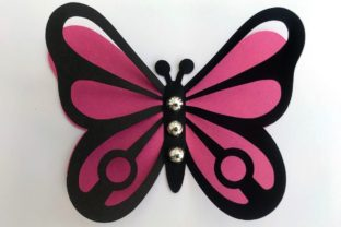 3D Layered Dragonflies and Butterflies 3D SVG Craft Cut File By Creative Fabrica Crafts 11