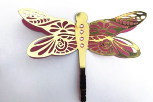 3D Layered Dragonflies and Butterflies 3D SVG Craft Cut File By Creative Fabrica Crafts 13