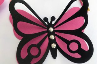 3D Layered Dragonflies and Butterflies 3D SVG Craft Cut File By Creative Fabrica Crafts 5