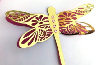3D Layered Dragonflies and Butterflies 3D SVG Craft Cut File By Creative Fabrica Crafts 9