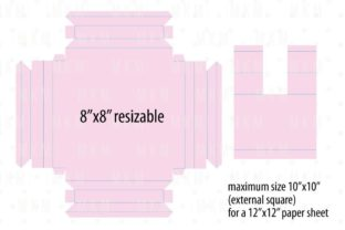 3D Shadow Box Frame Template 3D SVG Craft Cut File By Creative Fabrica Crafts 4