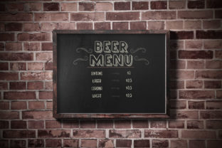 Print on Demand: Chalk and Friend Display Font By Alit Design 16