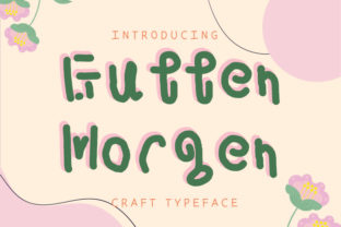 Print on Demand: Gutten Morgen Display Font By talithanavy