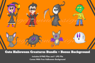 Halloween Clipart | Cute Halloween Graphic Crafts By Angel Lynne Designs