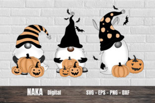 Halloween Gnome Graphic Crafts By NAKA SHOP