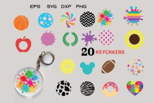Keychain Background Graphic Crafts By Dev Teching