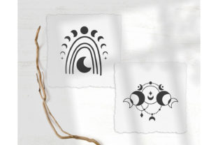 Moon Phases Bundle Graphic Illustrations By MySpaceGarden 2