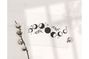 Moon Phases Bundle Graphic Illustrations By MySpaceGarden 7