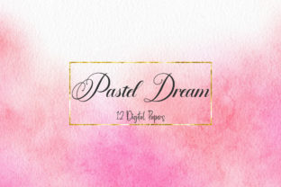 Print on Demand: Pastel Dream Watercolor Digital Papers Graphic Backgrounds By PinkPearly