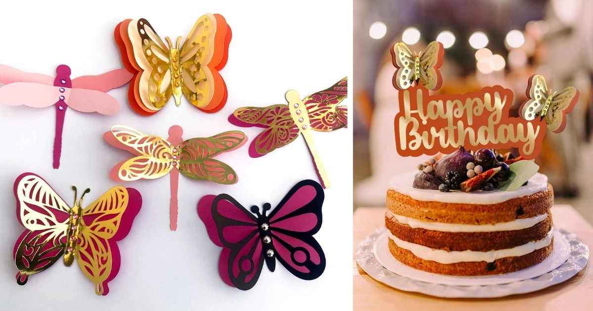 DIY 3D Layered Paper Butterfly main article image
