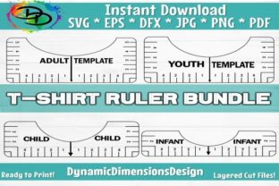 Print on Demand: T-Shirt Alignment Tool Graphic Crafts By dynamicdimensions
