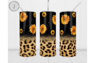 20oz Tumbler Sunflower Sublimation Graphic Print Templates By join29design