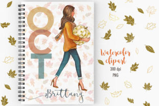 Fall Glitz with Pumpkins Graphic Illustrations By PrintableHenry Outlet 4
