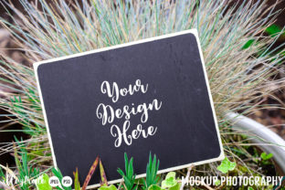 Print on Demand: Garden Mockup Styled Stock Photography Graphic Product Mockups By illuztrate