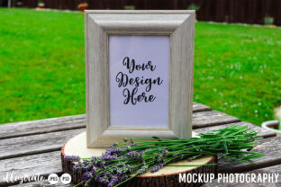 Print on Demand: Photo Frame Mockup | Mock Up Graphic Product Mockups By illuztrate