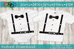 Print on Demand: Suspenders with Tie Graphic Crafts By dynamicdimensions