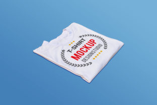 T-shirt Mockup Template Design-4 Graphic Product Mockups By alimran24