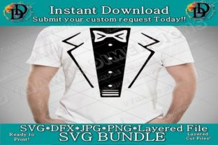 Print on Demand: Tuxedo Shirt Graphic Crafts By dynamicdimensions