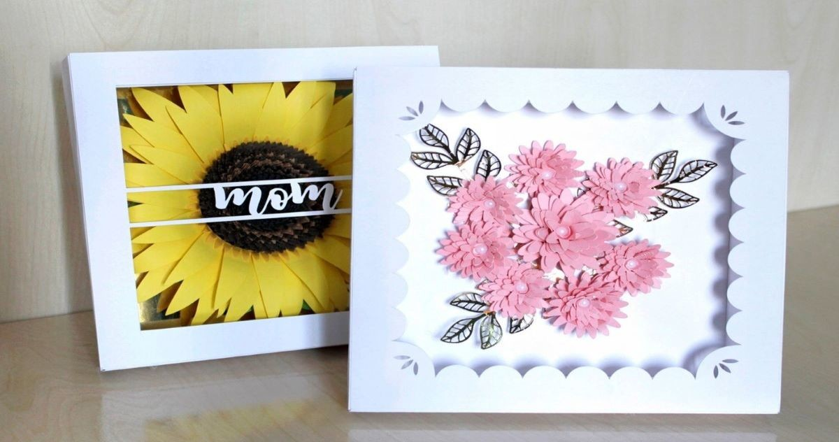 Create Your Own 3D Paper Shadow Box Frame