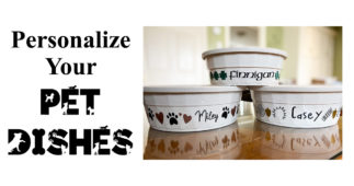 Personalize Your Pet Dishes