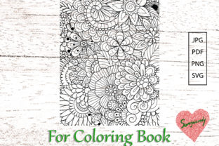 Abstract Background 8.5x11(16) Graphic Coloring Pages & Books Adults By somjaicindy