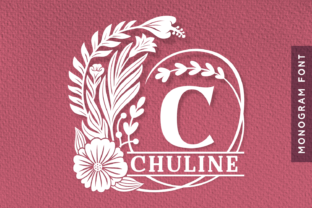 Print on Demand: Chuline Decorative Font By Situjuh