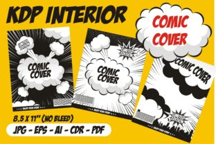 Print on Demand: Comic Cover Pop Art Style Graphic KDP Interiors By edywiyonopp