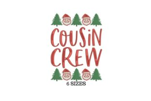 Cousin Christmas Christmas Embroidery Design By SVG Digital Designer