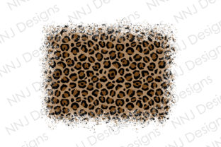 Print on Demand: Distressed Leopard Background PNG Graphic Illustrations By NNJ Designs
