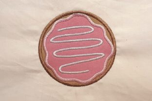 Doughnut Dessert & Sweets Embroidery Design By Thread Treasures Embroidery