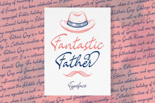 Print on Demand: Fantastic Father Script & Handwritten Font By Situjuh