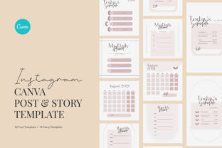 Print on Demand: Minimalist Activity Planner Canva Graphic Graphic Templates By peterdraw