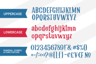 Print on Demand: Party Stars Display Font By Holydie Studio 4