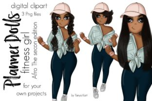 Sport Afro Girl Planner Icon Graphic Icons By Tanya Kart