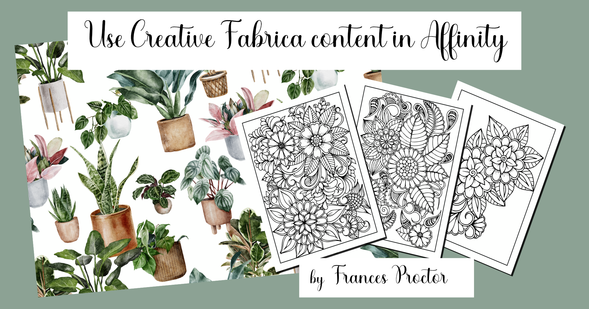 Using Creative Fabrica Items in Affinity Programs