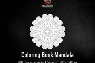 Print on Demand: Unique Mandala for KDP Coloring Books Graphic Illustrations By eichgr