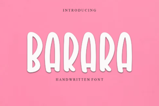Print on Demand: Barara Display Font By Letterpen
