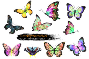 Butterfly Clipart Watercolor Graphic Illustrations By Dev Teching