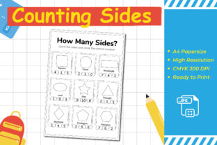 Counting Sides Graphic Teaching Materials By Kids Zone