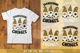 Thanksgiving with My Gnomes SVG Graphic Crafts By goodfox86