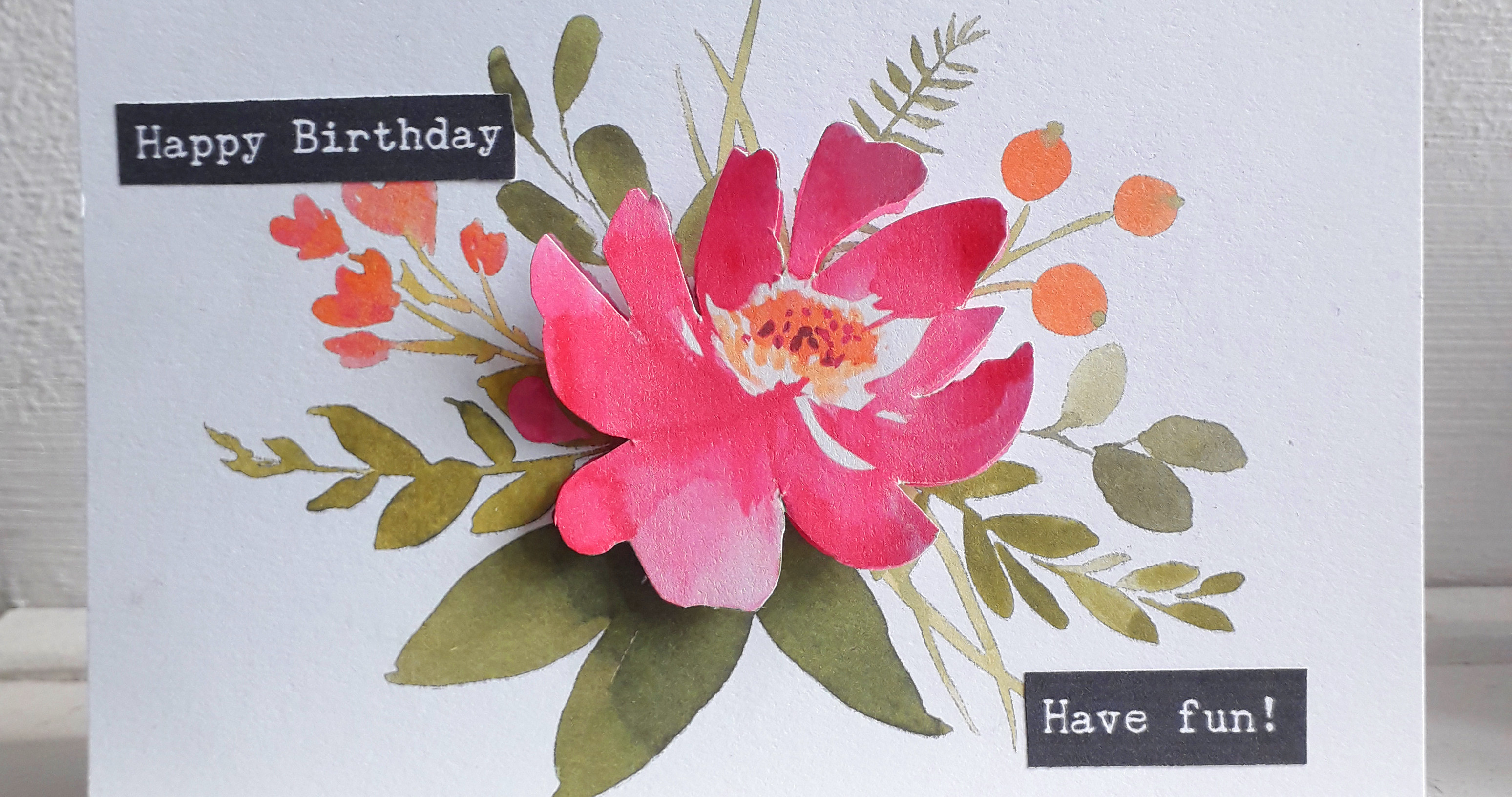 Quick and Easy Floral Greetings Cards
