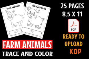 Farm Animals Handwriting Practice Graphic Teaching Materials By MOBAAMAL
