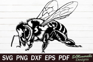 Print on Demand: Bee Graphic Graphic Templates By SoMemorableDesigns