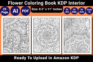 Print on Demand: Coloring Book for Adult KDP Interior Graphic Coloring Pages & Books Adults By KDP Coloring Book