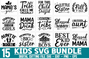 Print on Demand: Kids Bundle Graphic Crafts By Designdealy