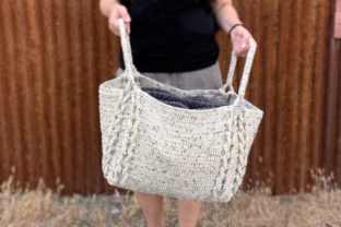 Notions Crochet Basket Graphic Crochet Patterns By Knit and Crochet Ever After